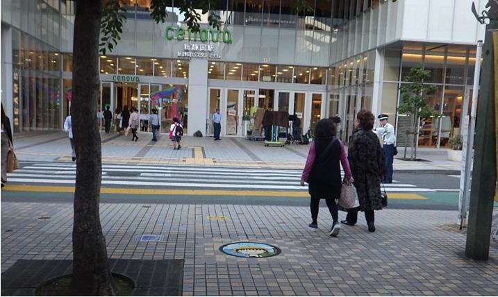 静岡市デザインマンホール設置場所