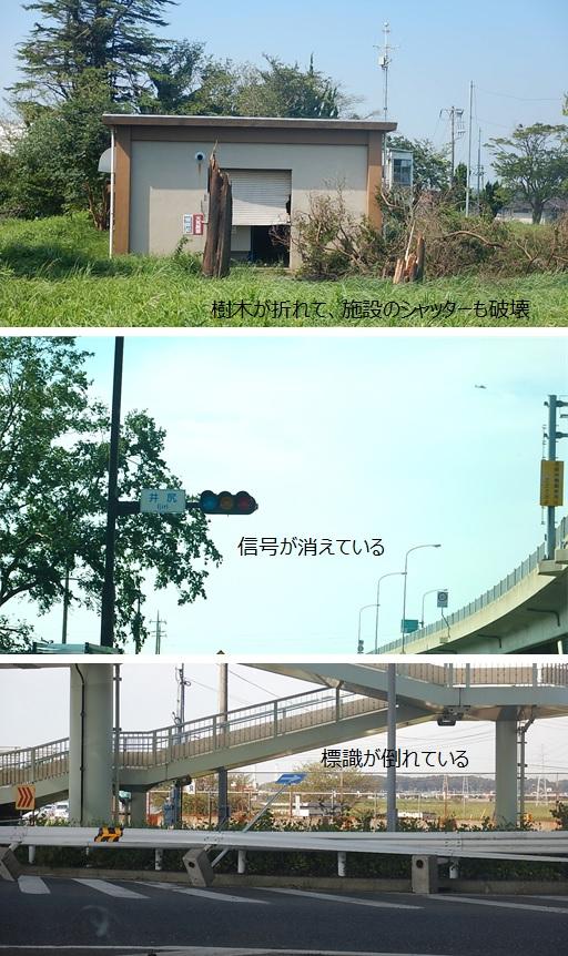 台風15号による被害