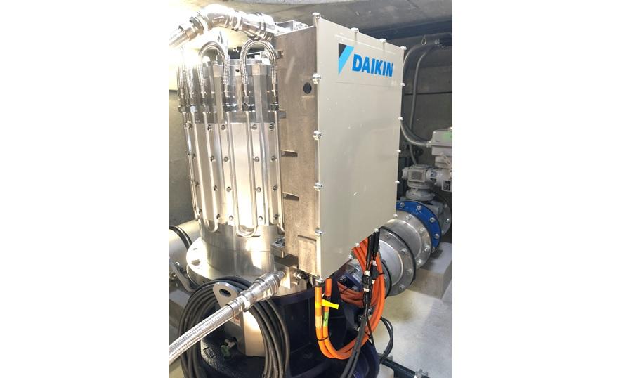 上原減圧水槽マイクロ水力発電機