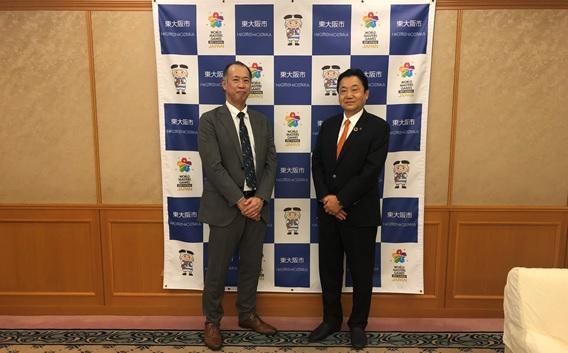東大阪市市長さま表敬訪問