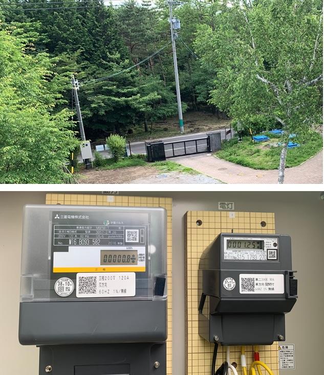 追分調整池マイクロ水力発電所の系統連系