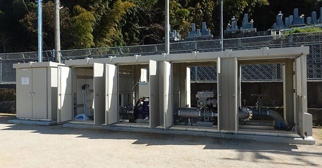 長福寺分水点マイクロ水力発電所