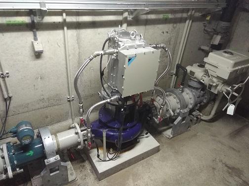 神戸市水道局福谷中層配水池マイクロ水力発電所