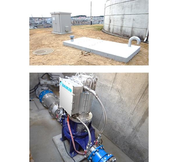 中台浄水場マイクロ水力発電所
