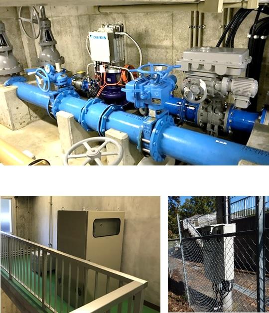 須玉第2減圧槽マイクロ水力発電システム
