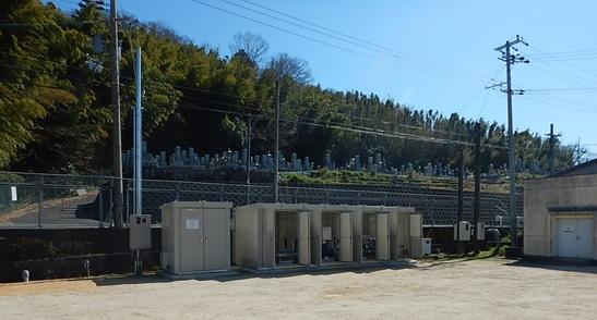 滋賀県企業庁長福寺分水マイクロ水力発電所は地上設置