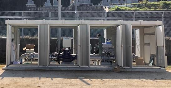 滋賀県企業庁長福寺分水マイクロ水力発電所