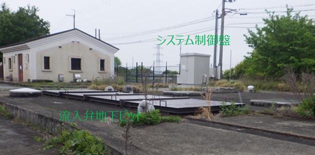 神戸市藤原配水場マイクロ水力発電所外観