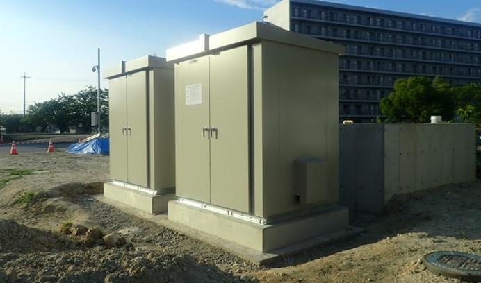 東海ポンプ場マイクロ水力発電所システム制御盤